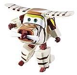 Alpha Animation & Toys- Super Wings YW710270 Transforming Bello Flugzeug, marrón, color...