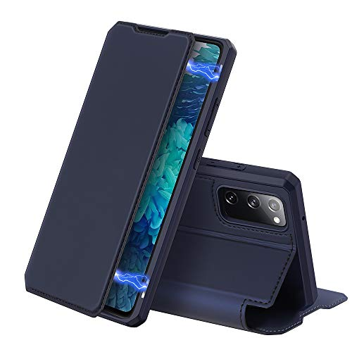 DUX DUCIS Case for Samsung Galaxy S20 FE, Premium Leather Magnetic Closure...