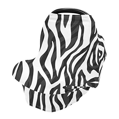 Nursing Cover Breastfeeding Scarf Zebra Print - Baby Car Seat Covers, Infant Stroller Cover, Carseat Canopy for Girls and Boys(0eb3b1)
