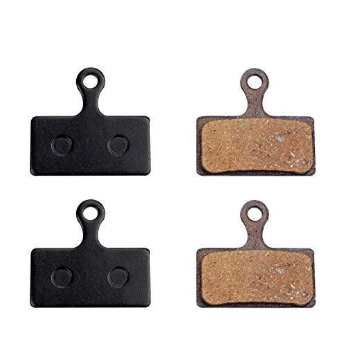 BGGPX Pastillas de Freno de Disco hidráulico de 2 Pares de Bicicletas...