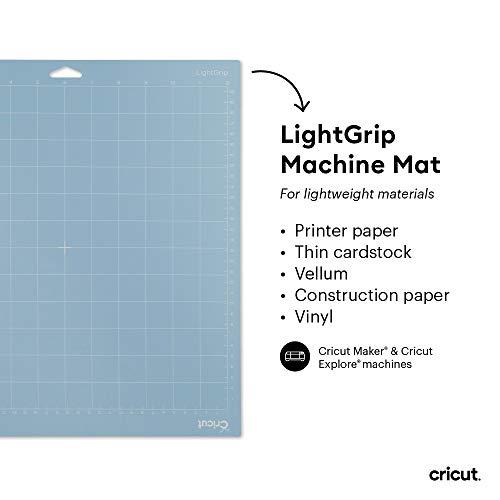 "Cricut LightGrip Adhesive Cutting Mat 12""x12"