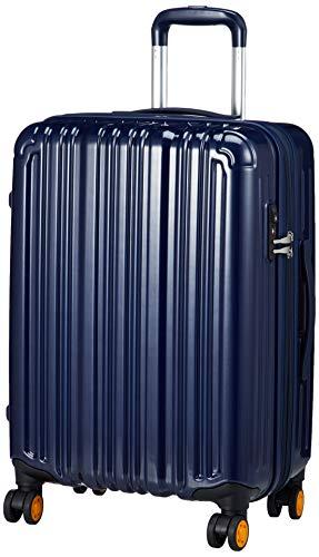 [ビータス] スーツケース ファスナー エキスパンダブル TSAロック ダブルキャスター 1年修理保証 BH-Z3000-M 保証付 50L 55 cm 3.6kg ネイビー