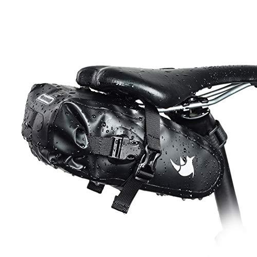 Bolsa Bicicleta Sillin Impermeable Bolsa Trasera para Bicicleta con Reflectante Bicicleta Silla De Montar Bolsa Accesorios De Ciclismo Al Aire Libre