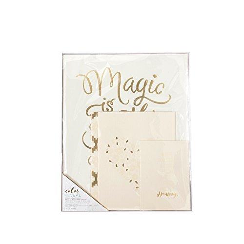 American Crafts Caisse Papier Aquarelle kit Couleur Reveal Magic est Quelque Chose Qui Permet de réaliser des 4 pièces