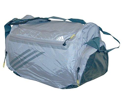 adidas Adizero Bag S sporttas vrije tijd fitness reistas grijs 50x25x25cm