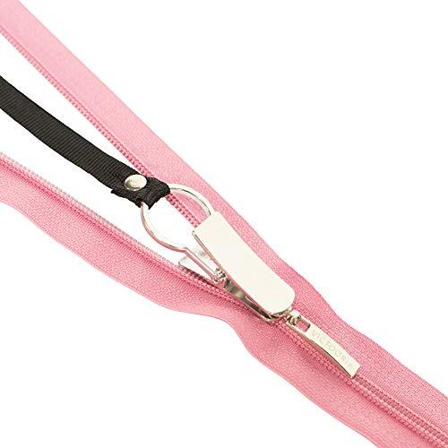 Zipii - Rits Pull Helper - Trek Ritssluiting in een jurk, laarzen of jas - Eenvoudig in gebruik - Stijlvol ontwerp - Eenvoudig gereedschap voor kinderen en volwassenen - Werkt op bijna alle ritsen. (zwart)