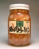 梅肉らっきょう カツオ風味 【500g】国産 福井県産ラッキョウ