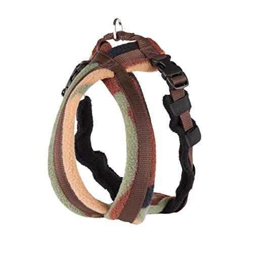 Fleece Lined Harness フリースラインドハーネス カモフラージュ(迷彩) 0号(超小型犬用)