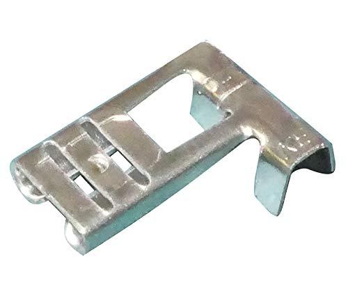 AERZETIX: Juego de 100 terminales eléctricos planos de cable 6.3mm 90° ángulo...