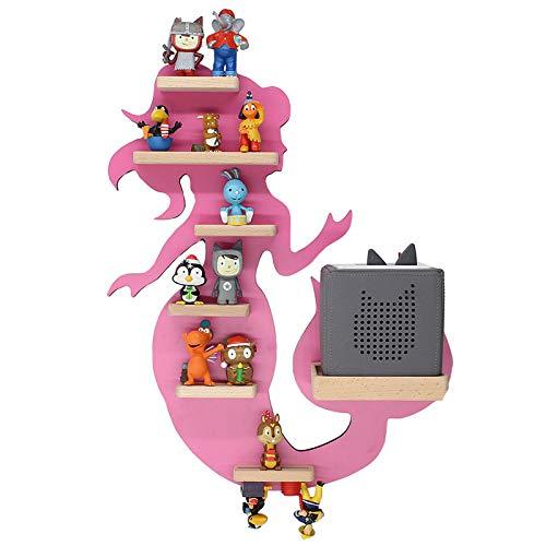 BOARTI Meerjungfrau Kinder Regal small in Pink - geeignet für die Toniebox und ca. 23 Tonies - zum Spielen und Sammeln