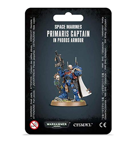 Games Workshop Warhammer 40,000 40k Space Marines Primaris Captain in Phobos Armour