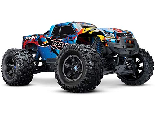 Traxxas X-Maxx: Monster Truck elettrico senza spazzole con sistema radio TQi Link abilitato 2.4GHz e gestione della stabilità Traxxas (TSM)