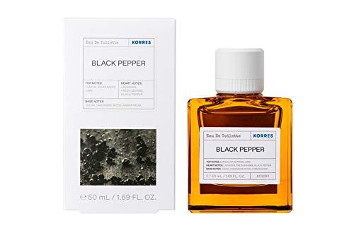 Korres BLACK PEPPER EDT für Ihn, 50 ml