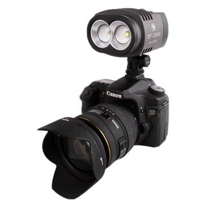 DACHENGJIN Illuminazione fotografica ZF-2000 2 LED Video Light for videocamera/videocamera DACHENGJIN