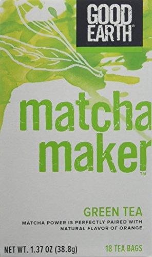 Good Earth Tea Matcha Maker, 18 Count (Pack of 3)