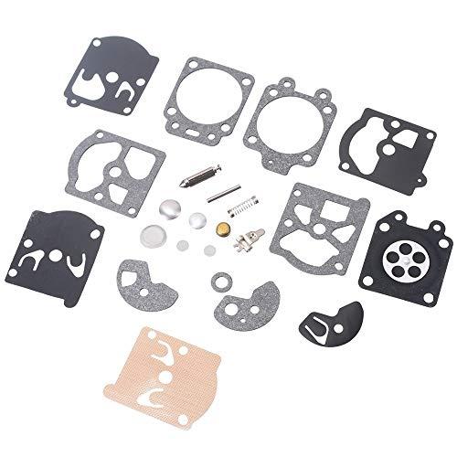 BGTR Accesorios de Moto Herramientas de reparación 1 Juego Compatible for el Sistema de Herramienta de K10 / K20-WAT WA/WT Walbro Carb Carburador de diafragma de Juntas de la Aguja Kit de reparación