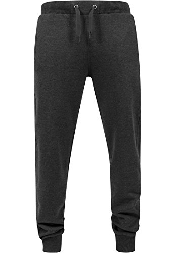 Urban Classics Hommes Straight Fit Sweatpants TB252, taille:XL, couleur:charcoal