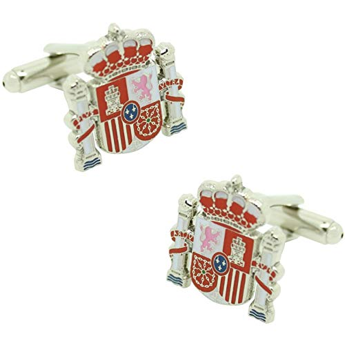 MasGemelos - Gemelos Escudo Oficial España Cufflinks