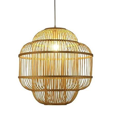 Fine Asianliving Deckenleuchte Pendelleuchte Beleuchtung Bambus Lampenschirm Handgefertigt - Evon Pendelleuchte Beleuchtung Bambus Lampenschirm Geflochten Lampe Belechtung Rotan