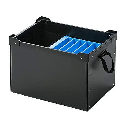 サンワサプライ プラダン製タブレット・ノートパソコン収納ケース(6台用) PD-BOX3BK