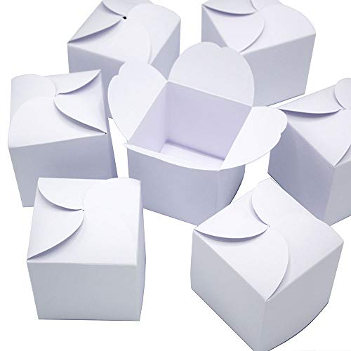24 Adventskalender-Boxen I weiße Do-it-Yourself Geschenkboxen I Set zum selber Basteln Befüllen Bemalen I kleine Schachteln für Weihnachten I dv_596