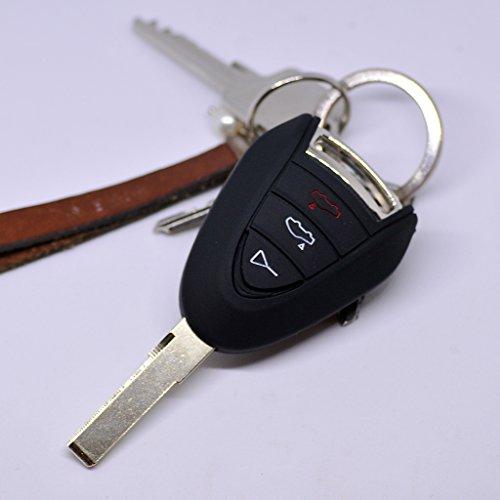 mächtig Porsche 911997987 Boxster Cayman Khaki Schutzhülle für Fernschlüssel…