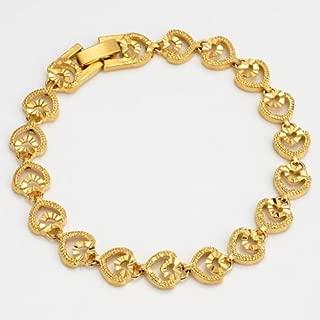 OFJCHPDM Silver Charms Bracelet Bangle for Women Crystal Flower Beads Fit Brand Bracelets Jewelry