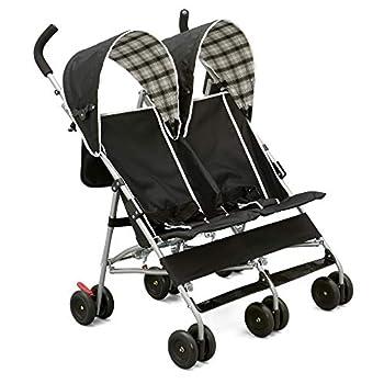 Delta Children City Street Side by Side Stroller Black