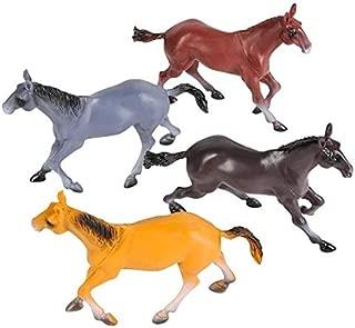 Rhode Island Novelty 6 Inch Horse Assortment Set of 12