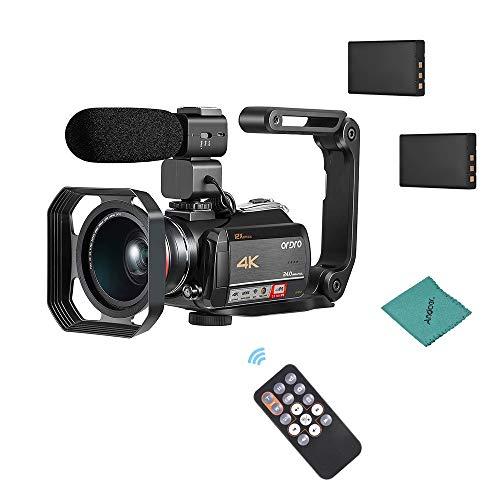4k Camcorder,ORDRO 4K Ultra HD Videokamera (AC5)