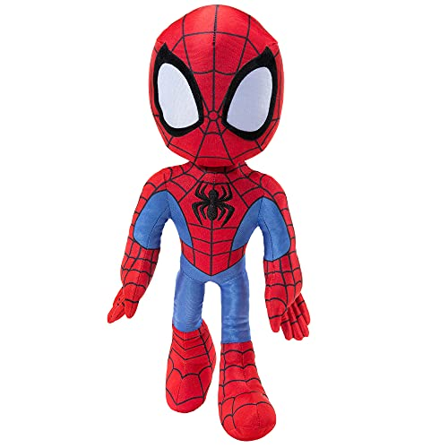 """Spidey and His Amazing Friends - My Friend 16"""" Plush with Sounds - Toys for Kids Ages 3 and Up - Featuring Your Friendly Neighborhood,SNF0050"""