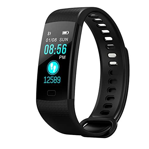 LEXIANG Rastreador de Ejercicios con Modos multideportivos IP67 Reloj Inteligente a Prueba de Agua Podómetro Contador de calorías Monitor de sueño y frecuencia cardíaca