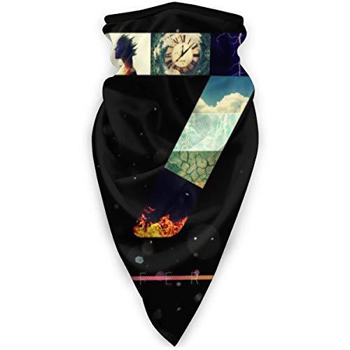 BNUJSAGIF Dantes Inferno 7 verschiedene Kopfbedeckung Halstuch Bandana Schal