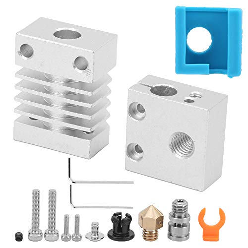3D Printer Extruder Upgrade Kit For Ender‑3 CR‑10 Hot End Accessories Heating Block