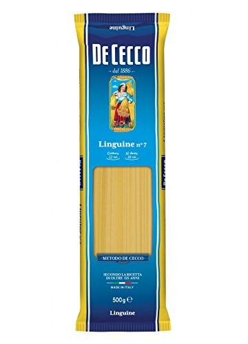 10x De Cecco Linguine No. 7 Italian Pasta 500g