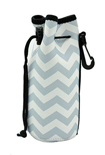 Case Wonder Water Bottle Carrier, Portable Neoprene Insulated Water Bottle Cooler/ Carry Bag/ Cover/ Sleeve/ Tote /Bag/ Pouch /Holder/for Kid Children Women MEN Biker Travel Cycling Climbing Sports Outdoor (Diamond)