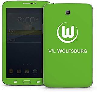 DeinDesign Samsung Galaxy Tab 3 7.0 7.0 Folie Skin Sticker aus Vinyl-Folie Aufkleber VFL Wolfsburg Fanartikel Fußball