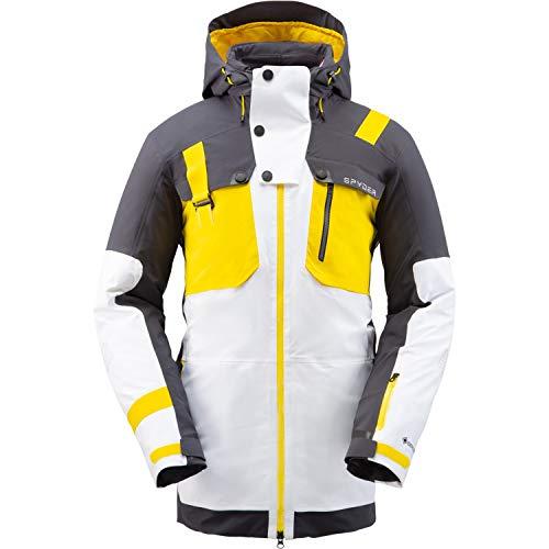 SPYDER TORDRILLO Heren Ski Gore-Tex Primaloft Jas - wit