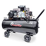 Profi-Luftkompressor mit 200 Liter Tank, KnappWulf KW3500, Für Lichtstrom 230V