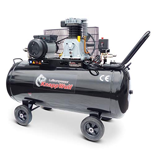 KnappWulf KW3500 Kompressor Luftkompressor Druckluftkompressor 200L Kessel 230V