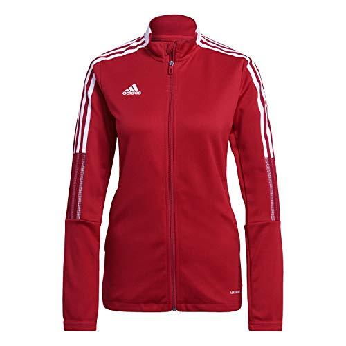 adidas GM7305 TIRO21 TK JKT W Jacket Womens Team Power Red L