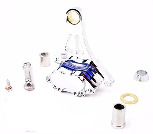 Springer Front End Brake Caliper Kit Left Side CHROME DNA Harley for 11.50