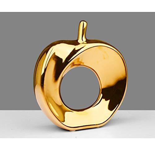 NYKK Ornamento de Escritorio Modern Home Adornos, Fruta Modelo Regalo for la...