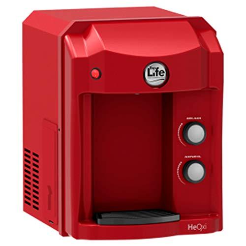 Filtro Purificador de Água Alcalino E Ionizado Com Ozônio Top Life - 127v (Vermelho)