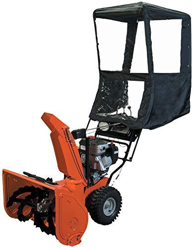 Raider 02-1402 Black Universal Heavy-Duty Snow Thrower Cab with Quick Detach