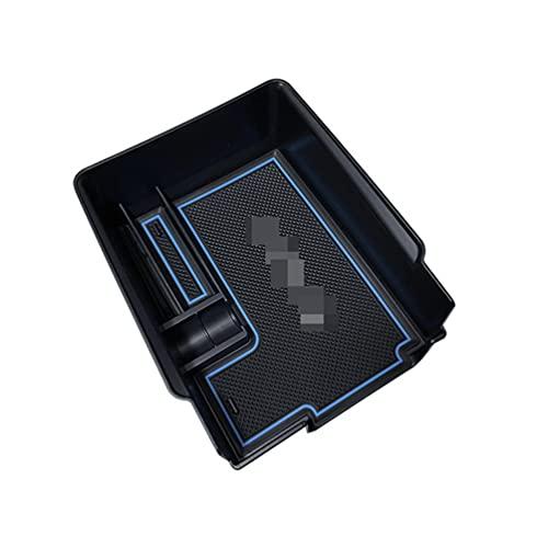 2021 Caja de Almacenamiento de reposabrazos, para Tesla Model 3 Y Caja de reposabrazos Central de Coche Consola Caja de portavasos Contenedor automático Organizador de Guantes 2021