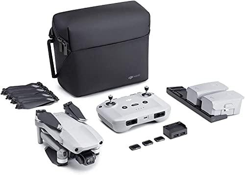 DJI Mavic Air 2 Fly More Combo (EU) + Care Refresh (Auto-activated) - Drohne 4K-Kamera, 3-Achsen-Stabilisator, 34-minütiger Flug, DJI Care automatisch aktivierter Austauschservice exklusiv für Amazon
