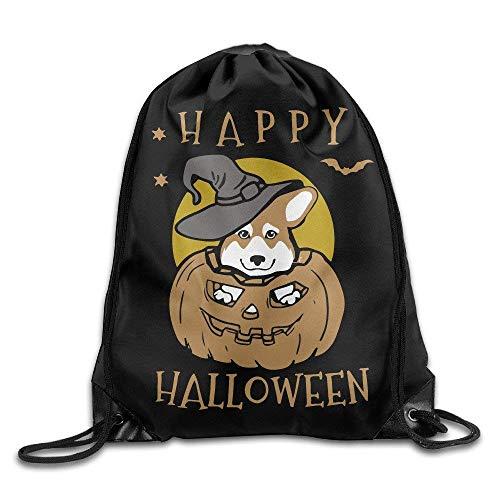 Sporttaschen Turnbeutel Cat Halloween Sport Backpack Drawstring Print Bag Fashion