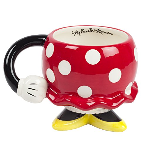 FAB Starpoint Disney Minnie Mouse Red Drinking Mug with Arm, One Size