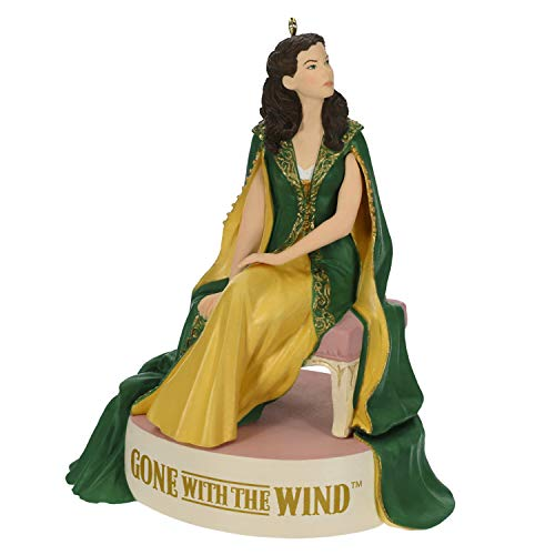 Hallmark Keepsake Christmas Ornament 2019 Year Dated Gone with The Wind One Door Closes Scarlett O'Hara with Sound